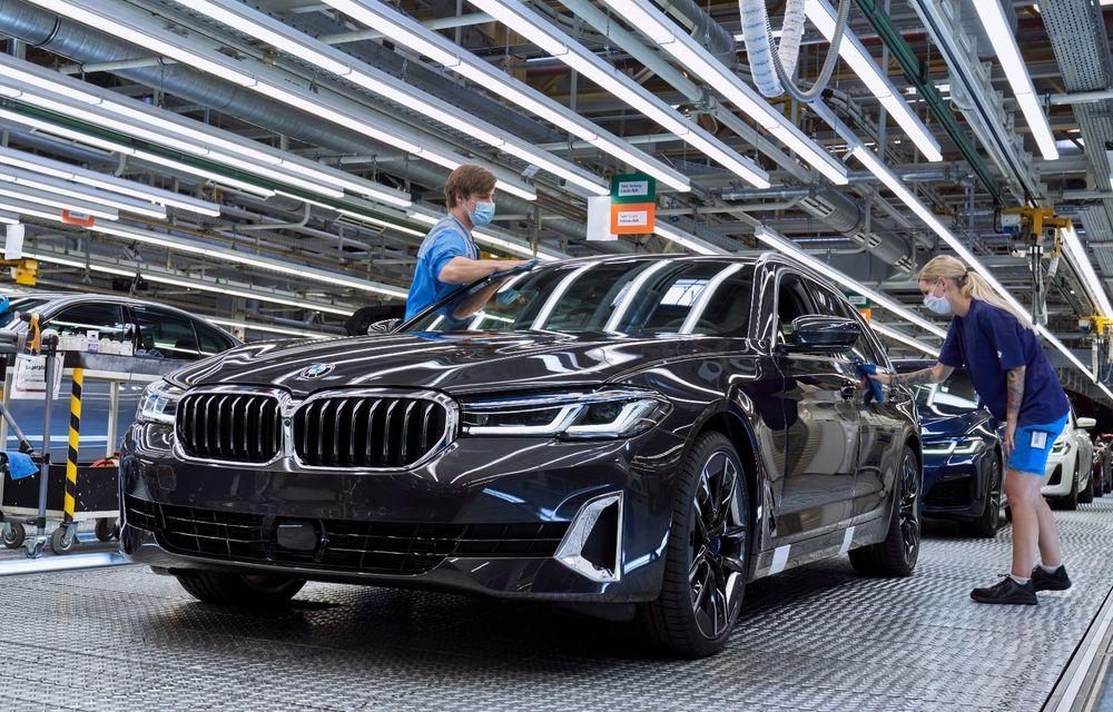BMW a început producția modelelor Seria 4, Seria 5 facelift și Seria 6 GT facelift la uzina din Dingolfing - Poza 44