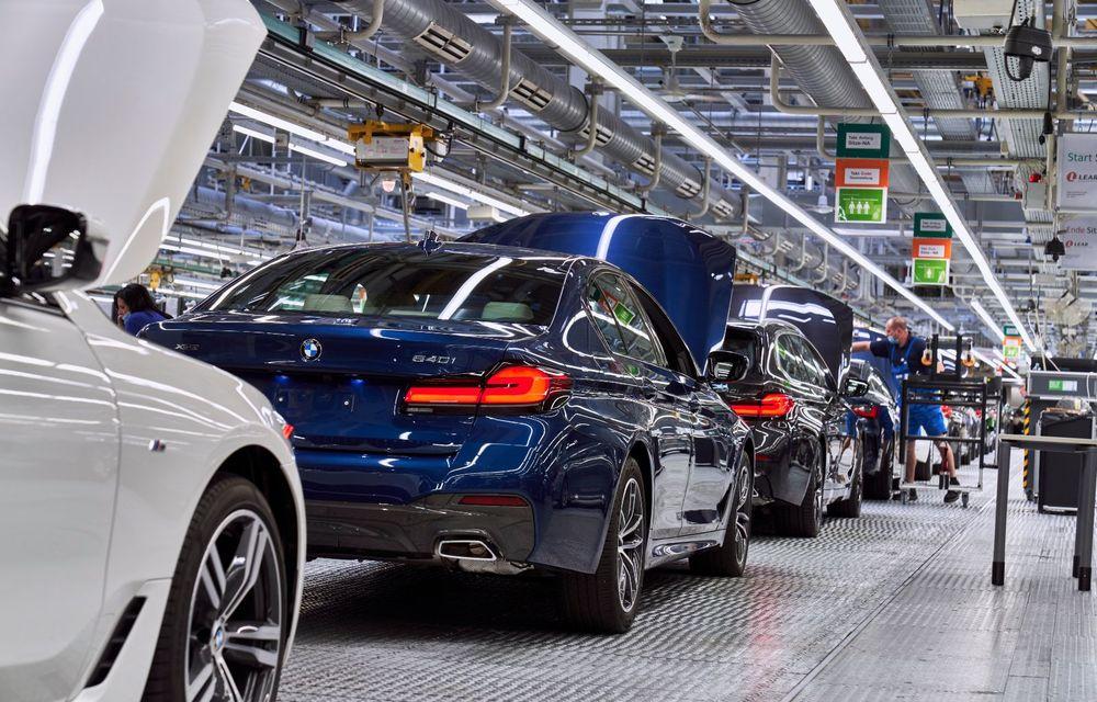 BMW a început producția modelelor Seria 4, Seria 5 facelift și Seria 6 GT facelift la uzina din Dingolfing - Poza 28