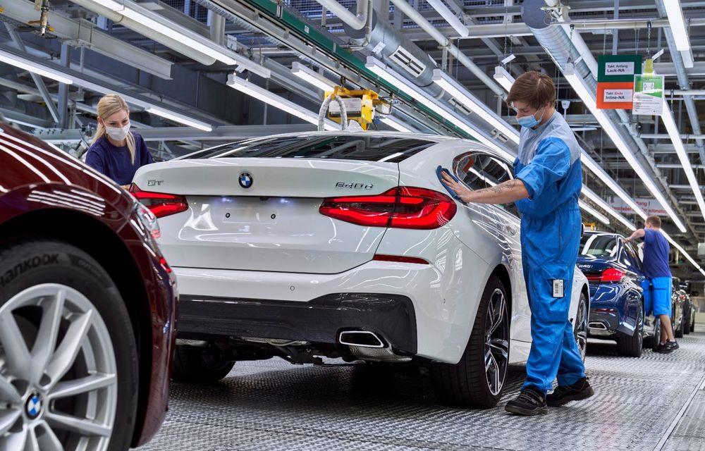 BMW a început producția modelelor Seria 4, Seria 5 facelift și Seria 6 GT facelift la uzina din Dingolfing - Poza 52