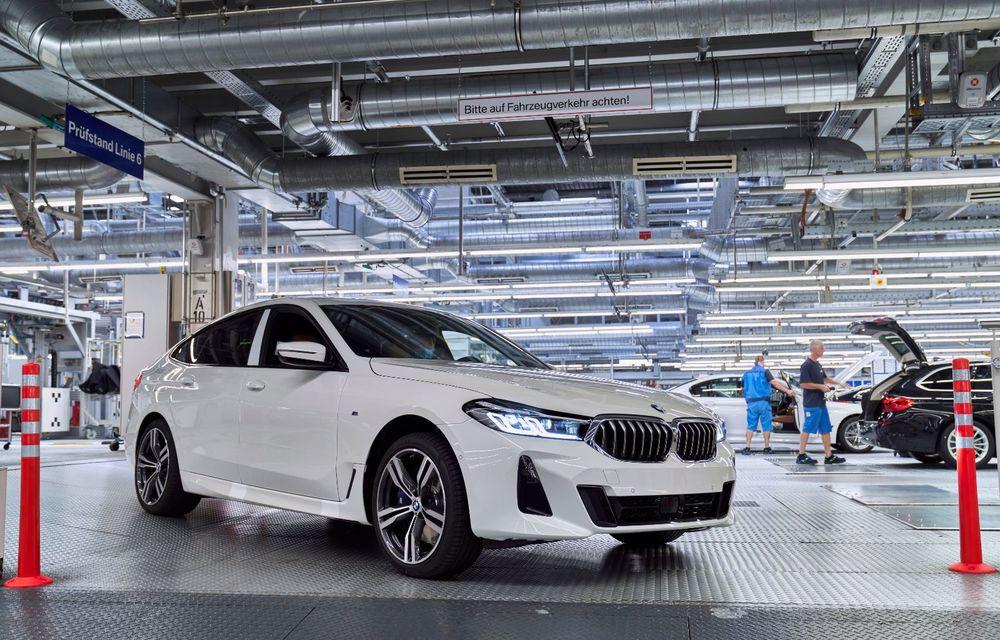 BMW a început producția modelelor Seria 4, Seria 5 facelift și Seria 6 GT facelift la uzina din Dingolfing - Poza 49