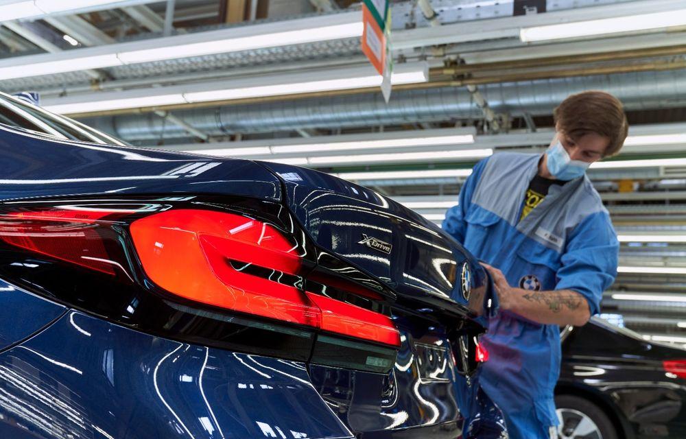 BMW a început producția modelelor Seria 4, Seria 5 facelift și Seria 6 GT facelift la uzina din Dingolfing - Poza 31