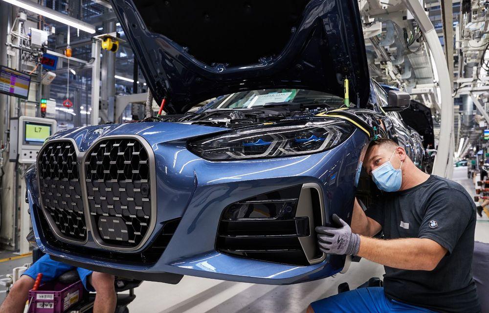 BMW a început producția modelelor Seria 4, Seria 5 facelift și Seria 6 GT facelift la uzina din Dingolfing - Poza 10
