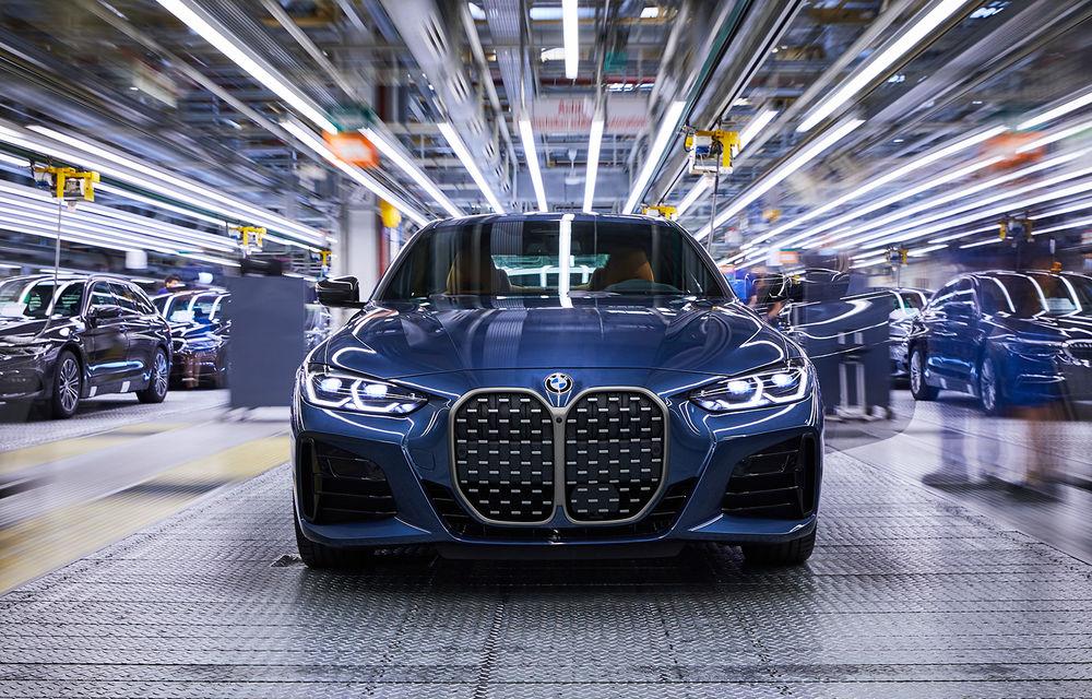 BMW a început producția modelelor Seria 4, Seria 5 facelift și Seria 6 GT facelift la uzina din Dingolfing - Poza 1