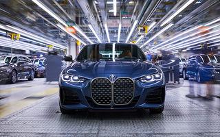 BMW a început producția modelelor Seria 4, Seria 5 facelift și Seria 6 GT facelift la uzina din Dingolfing