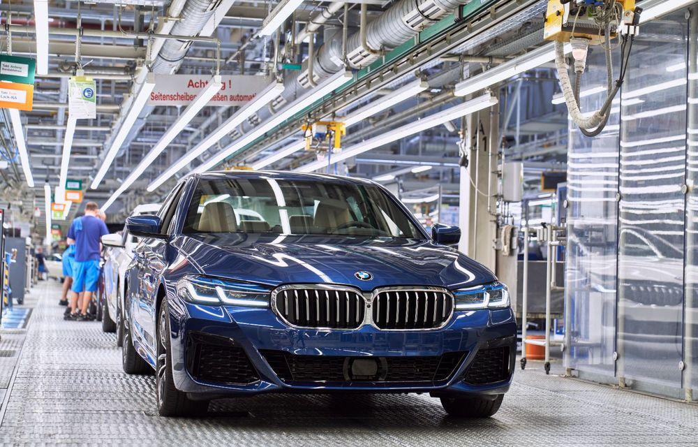 BMW a început producția modelelor Seria 4, Seria 5 facelift și Seria 6 GT facelift la uzina din Dingolfing - Poza 33