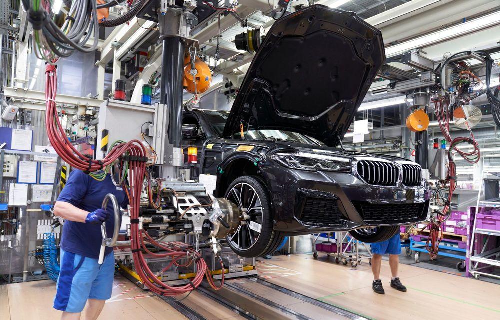 BMW a început producția modelelor Seria 4, Seria 5 facelift și Seria 6 GT facelift la uzina din Dingolfing - Poza 30