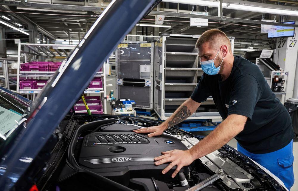 BMW a început producția modelelor Seria 4, Seria 5 facelift și Seria 6 GT facelift la uzina din Dingolfing - Poza 11