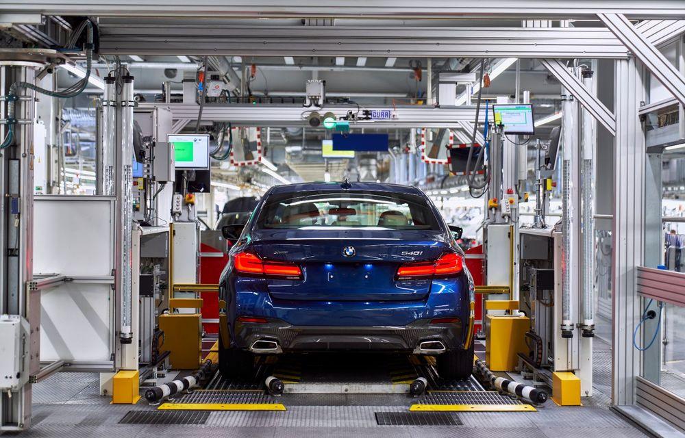 BMW a început producția modelelor Seria 4, Seria 5 facelift și Seria 6 GT facelift la uzina din Dingolfing - Poza 27