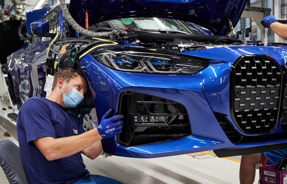 BMW a început producția modelelor Seria 4, Seria 5 facelift și Seria 6 GT facelift la uzina din Dingolfing - Poza 7