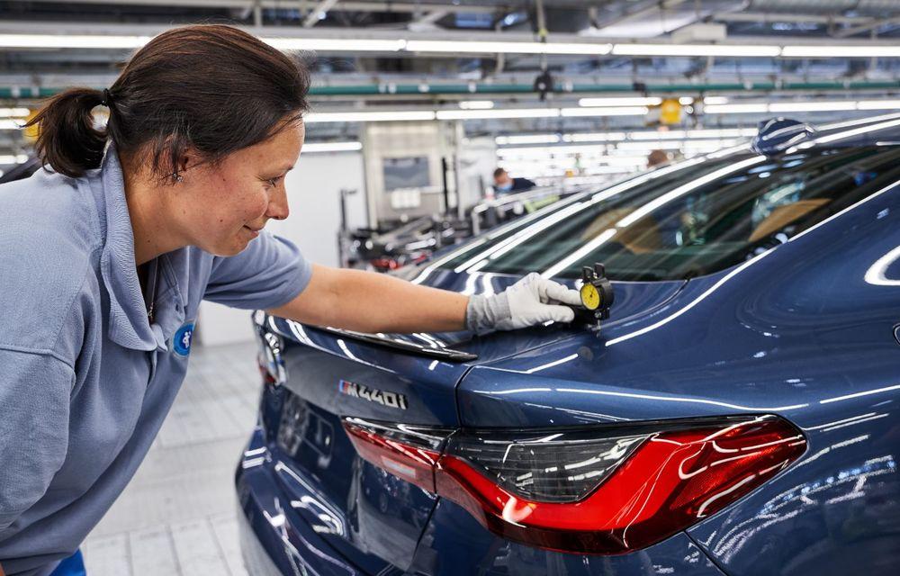 BMW a început producția modelelor Seria 4, Seria 5 facelift și Seria 6 GT facelift la uzina din Dingolfing - Poza 15