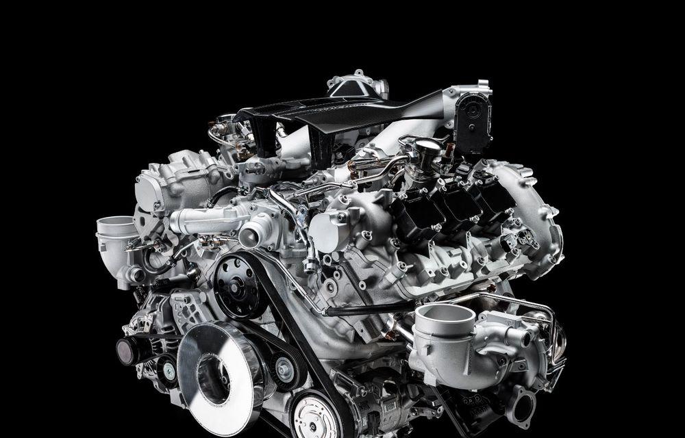 Primele informații despre noul motor V6 dezvoltat de Maserati: 630 de cai putere și 730 Nm - Poza 5