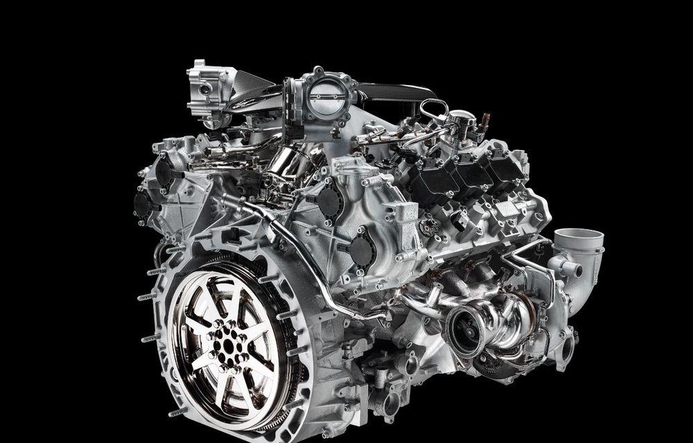Primele informații despre noul motor V6 dezvoltat de Maserati: 630 de cai putere și 730 Nm - Poza 7