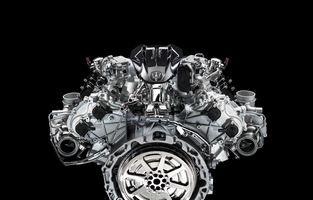 Primele informații despre noul motor V6 dezvoltat de Maserati: 630 de cai putere și 730 Nm - Poza 8