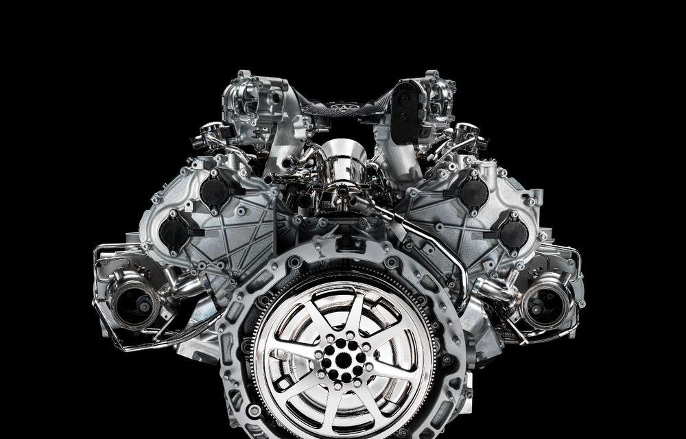 Primele informații despre noul motor V6 dezvoltat de Maserati: 630 de cai putere și 730 Nm - Poza 9