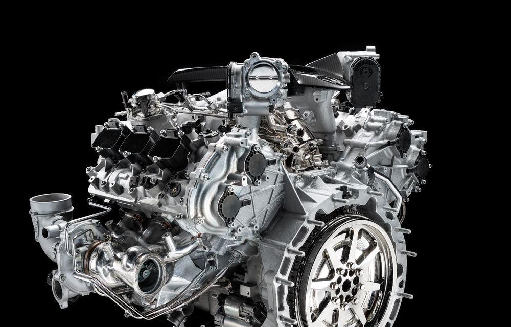 Primele informații despre noul motor V6 dezvoltat de Maserati: 630 de cai putere și 730 Nm - Poza 4