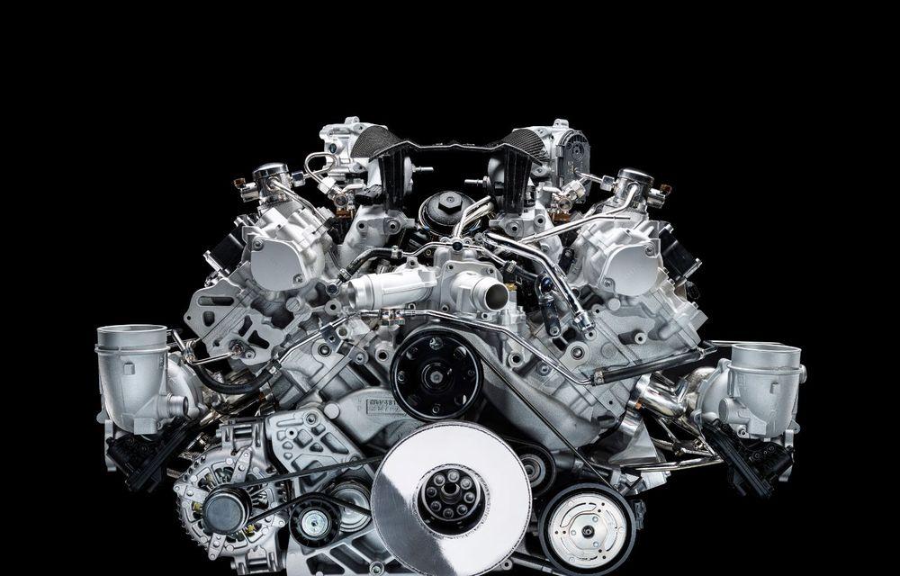 Primele informații despre noul motor V6 dezvoltat de Maserati: 630 de cai putere și 730 Nm - Poza 6