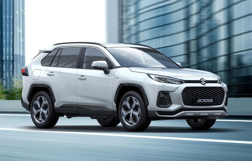 Suzuki lansează SUV-ul Across: modelul are la bază actuala generație Toyota RAV4 și va fi disponibil în Europa doar în versiune plug-in hybrid - Poza 1