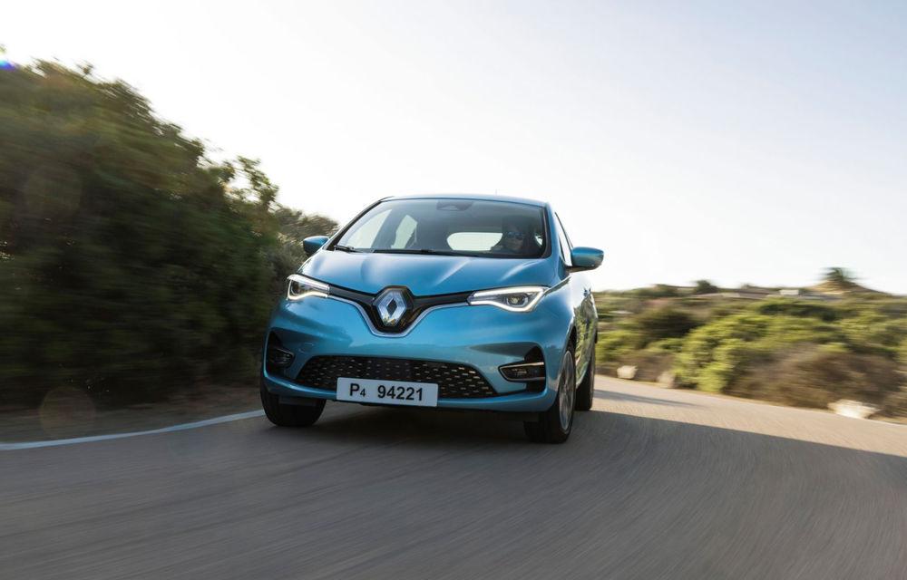 Renault Zoe, cea mai vândută mașină electrică în Europa în luna mai: Ford Puma, locul patru în topul mașinilor hibride fără încărcare la priză - Poza 1