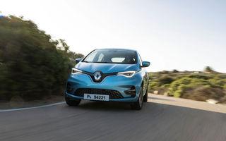 Renault Zoe, cea mai vândută mașină electrică în Europa în luna mai: Ford Puma, locul patru în topul mașinilor hibride fără încărcare la priză