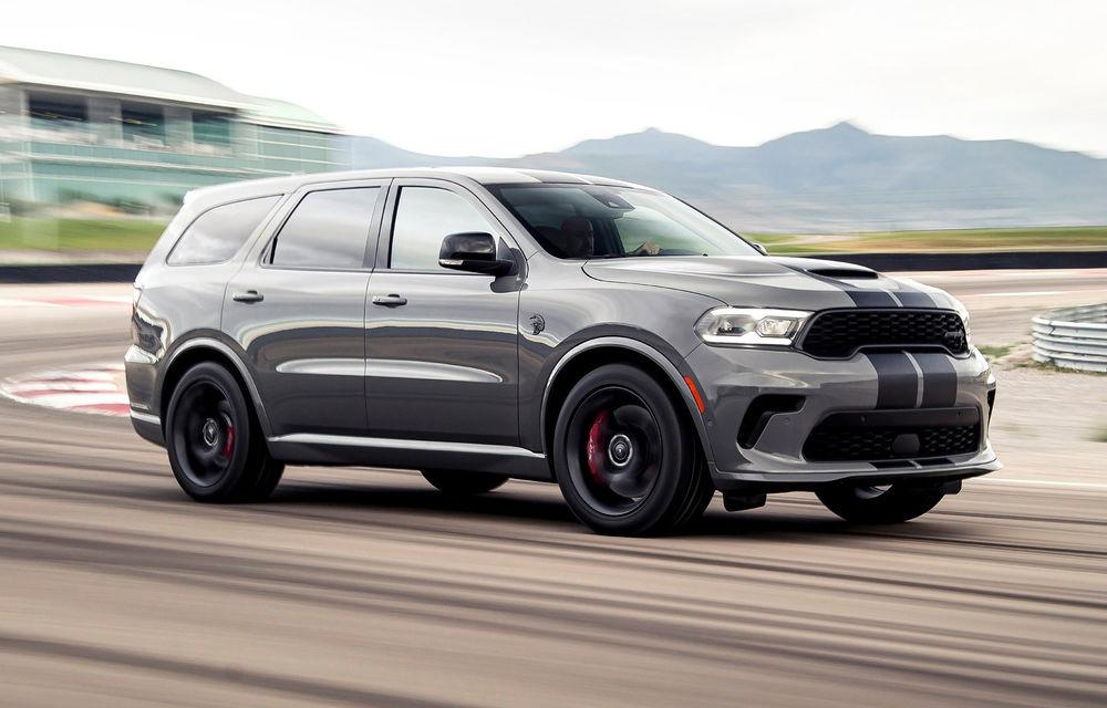 Dodge a lansat cel mai puternic SUV de serie din lume: Durango SRT Hellcat are 720 CP și viteză de top de 290 km/h - Poza 1