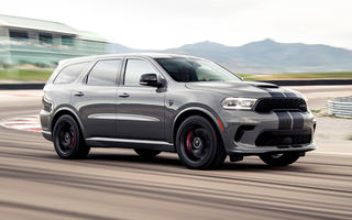 Dodge a lansat cel mai puternic SUV de serie din lume: Durango SRT Hellcat are 720 CP și viteză de top de 290 km/h