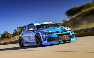 Volkswagen a prezentat noul Golf 8 GTI GTC: modelul de circuit va fi utilizat în seria Global Touring Cars din Africa de Sud