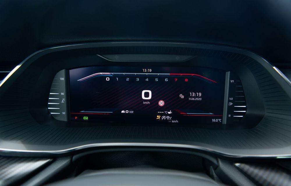 Skoda lansează versiuni noi pentru Octavia RS: motor diesel de 200 CP și versiune pe benzină cu 245 CP - Poza 25