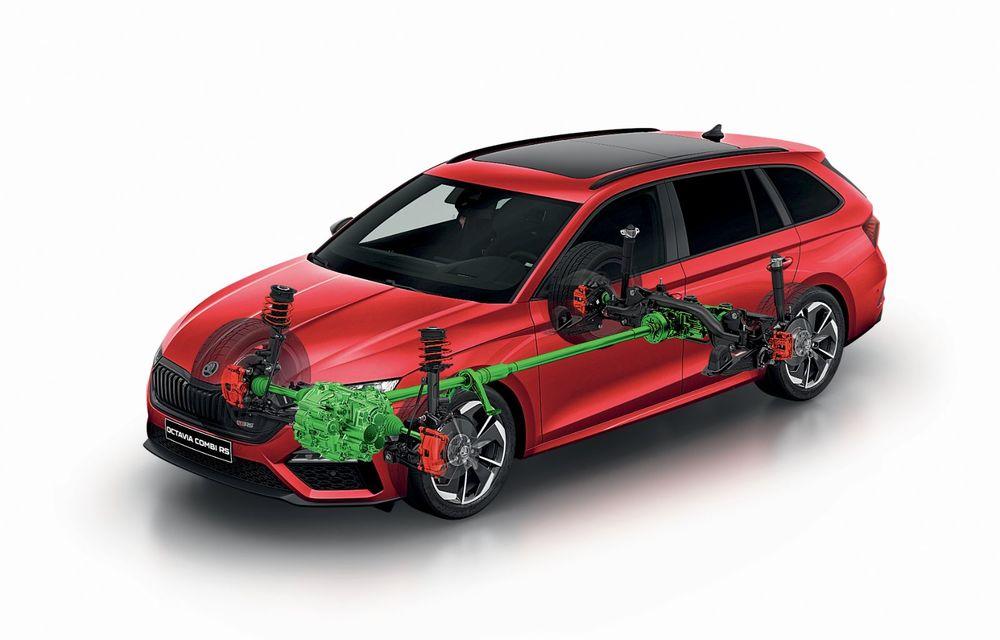 Skoda lansează versiuni noi pentru Octavia RS: motor diesel de 200 CP și versiune pe benzină cu 245 CP - Poza 11