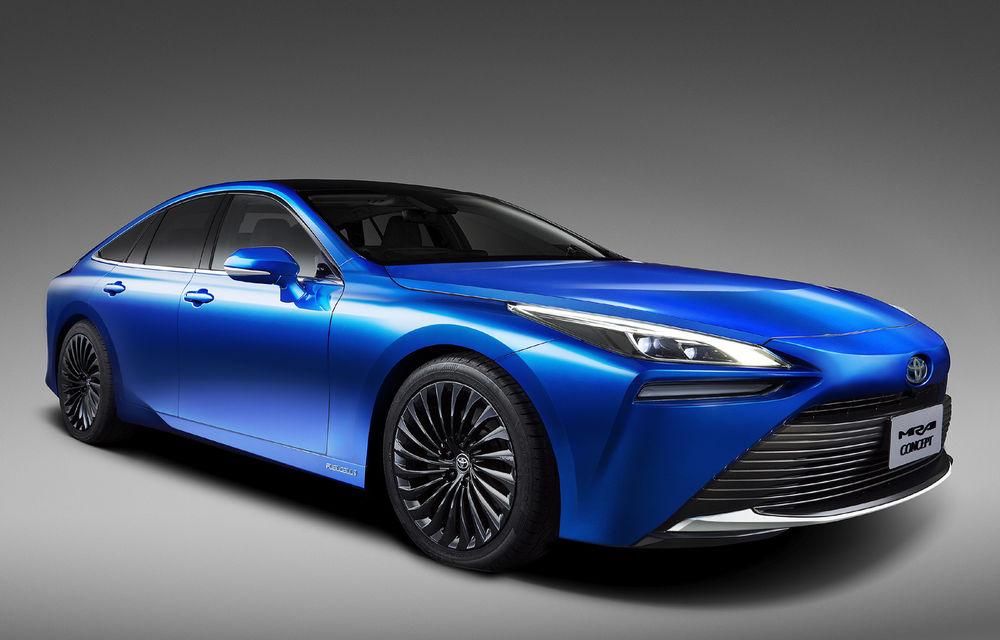 Toyota va prezenta în toamnă noua generație Mirai: modelul electric alimentat cu hidrogen va fi disponibil pe piață din 2021 - Poza 1