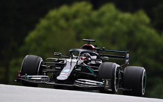 Mercedes a dominat primele sesiuni de antrenamente ale noului sezon de Formula 1: Hamilton a stabilit cel mai bun timp în Austria