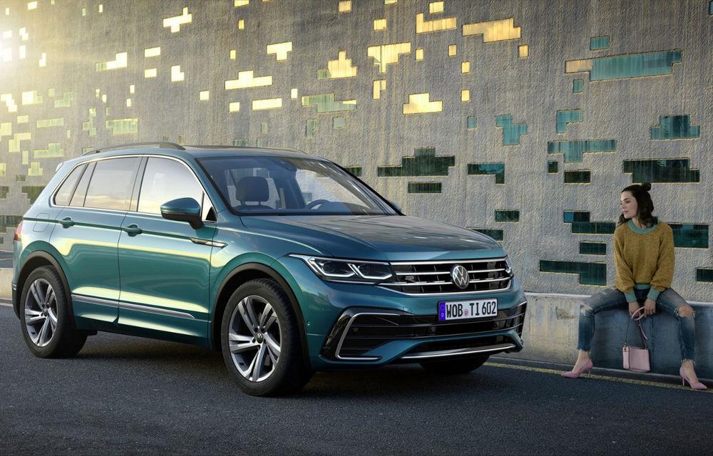 Volkswagen Tiguan facelift: primele detalii despre versiunile cu motoare diesel și pe benzină - Poza 1