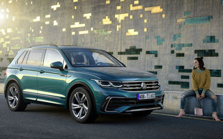Volkswagen Tiguan facelift: primele detalii despre versiunile cu motoare diesel și pe benzină