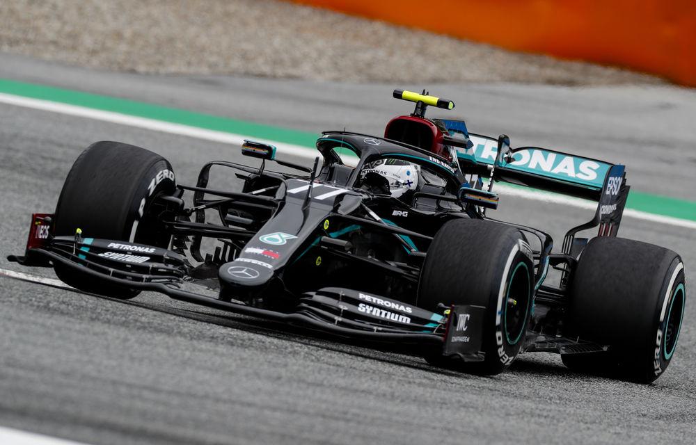 Bottas va pleca din pole position în cursa de Formula 1 din Austria! Hamilton, învins de finlandez cu numai 0.012 secunde - Poza 1