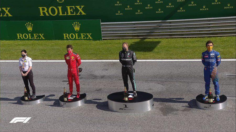 Bottas a câștigat cursa de Formula 1 din Austria! Leclerc si Norris, pe podium după un final cu peripeții și o penalizare pentru Hamilton - Poza 8