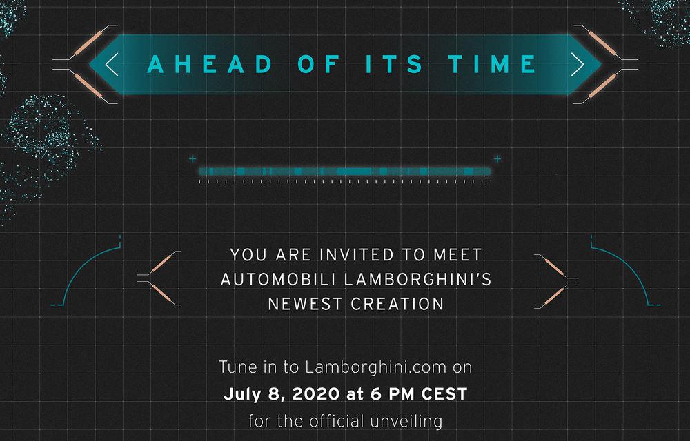 Update: Lamborghini a publicat o imagine teaser care anunță o versiune nouă a hypercar-ului Sian: lansarea va avea loc în 8 iulie - Poza 1