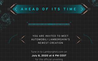 Update: Lamborghini a publicat o imagine teaser care anunță o versiune nouă a hypercar-ului Sian: lansarea va avea loc în 8 iulie