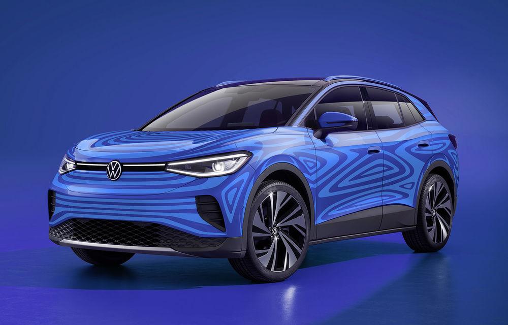 Producția lui Volkswagen ID.4 va începe în Germania în 2022: SUV-ul electric, fabricat la Emden alături de Passat și Arteon - Poza 1
