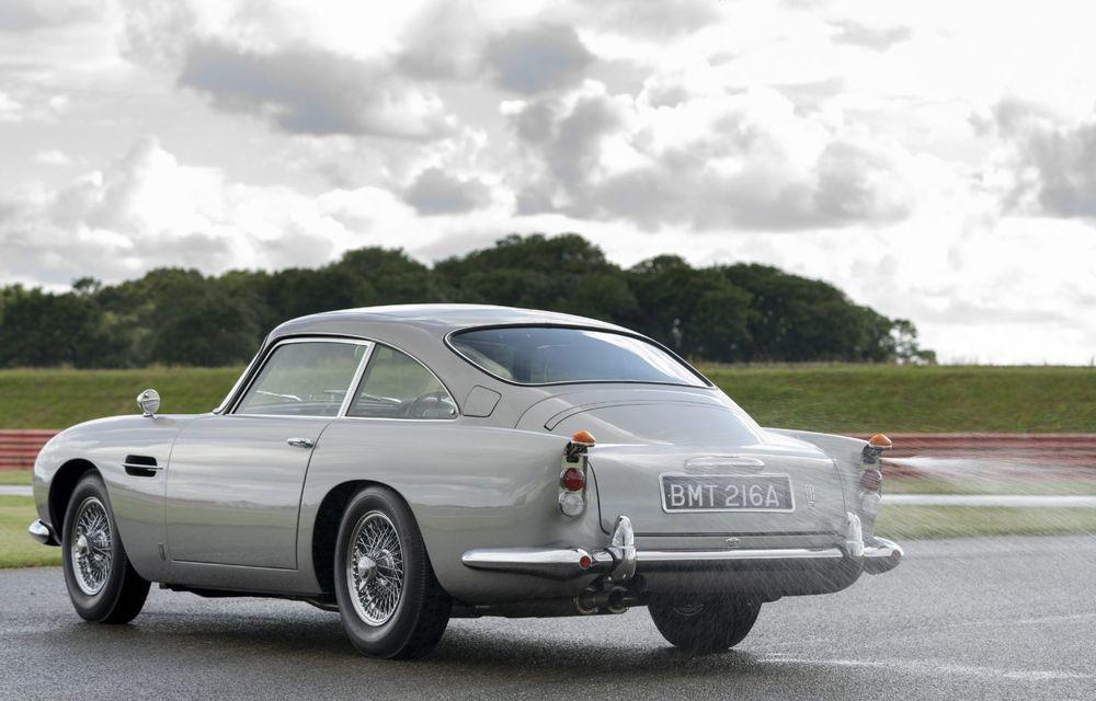 Aston Martin a produs primul exemplar din seria DB5 Goldfinger Continuation: ediția va fi limitată la 25 de unități și are un preț de peste 3 milioane de euro - Poza 5