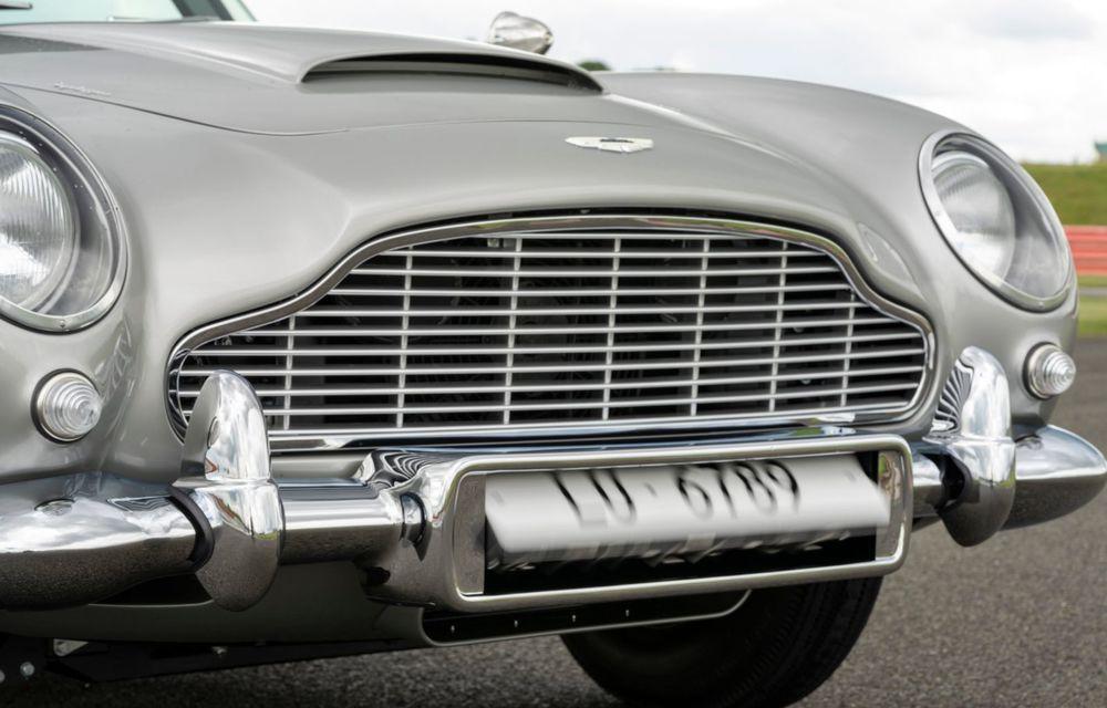 Aston Martin a produs primul exemplar din seria DB5 Goldfinger Continuation: ediția va fi limitată la 25 de unități și are un preț de peste 3 milioane de euro - Poza 15