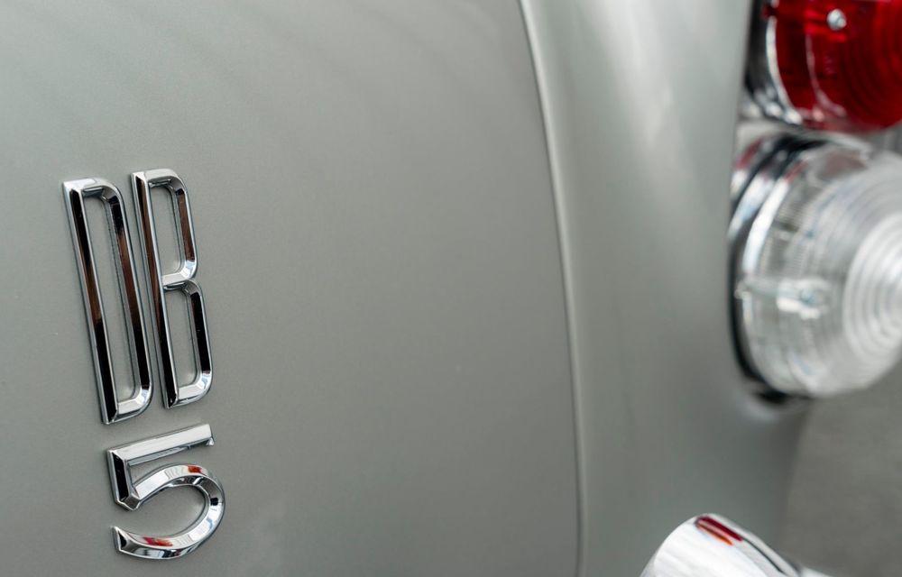 Aston Martin a produs primul exemplar din seria DB5 Goldfinger Continuation: ediția va fi limitată la 25 de unități și are un preț de peste 3 milioane de euro - Poza 26
