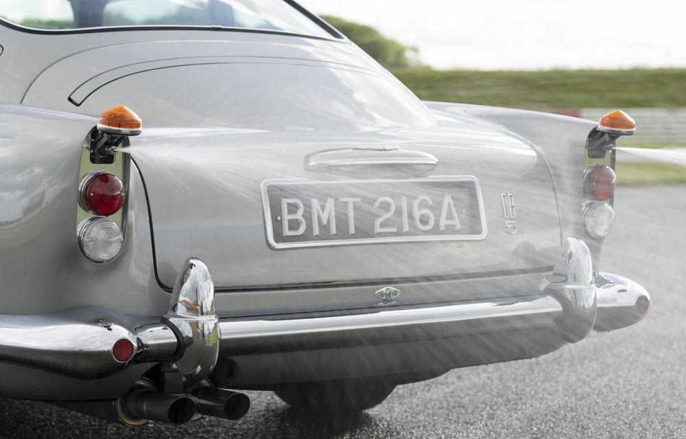 Aston Martin a produs primul exemplar din seria DB5 Goldfinger Continuation: ediția va fi limitată la 25 de unități și are un preț de peste 3 milioane de euro - Poza 21