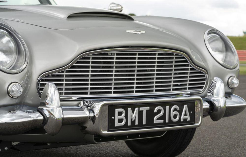 Aston Martin a produs primul exemplar din seria DB5 Goldfinger Continuation: ediția va fi limitată la 25 de unități și are un preț de peste 3 milioane de euro - Poza 16