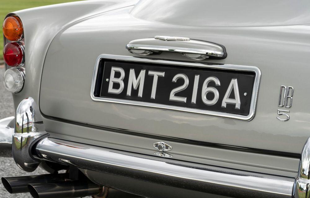 Aston Martin a produs primul exemplar din seria DB5 Goldfinger Continuation: ediția va fi limitată la 25 de unități și are un preț de peste 3 milioane de euro - Poza 17