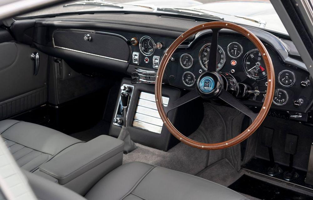 Aston Martin a produs primul exemplar din seria DB5 Goldfinger Continuation: ediția va fi limitată la 25 de unități și are un preț de peste 3 milioane de euro - Poza 29
