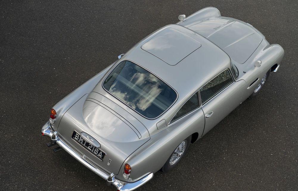 Aston Martin a produs primul exemplar din seria DB5 Goldfinger Continuation: ediția va fi limitată la 25 de unități și are un preț de peste 3 milioane de euro - Poza 7