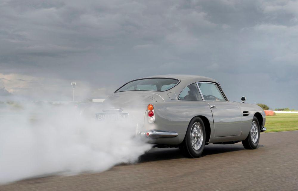 Aston Martin a produs primul exemplar din seria DB5 Goldfinger Continuation: ediția va fi limitată la 25 de unități și are un preț de peste 3 milioane de euro - Poza 8