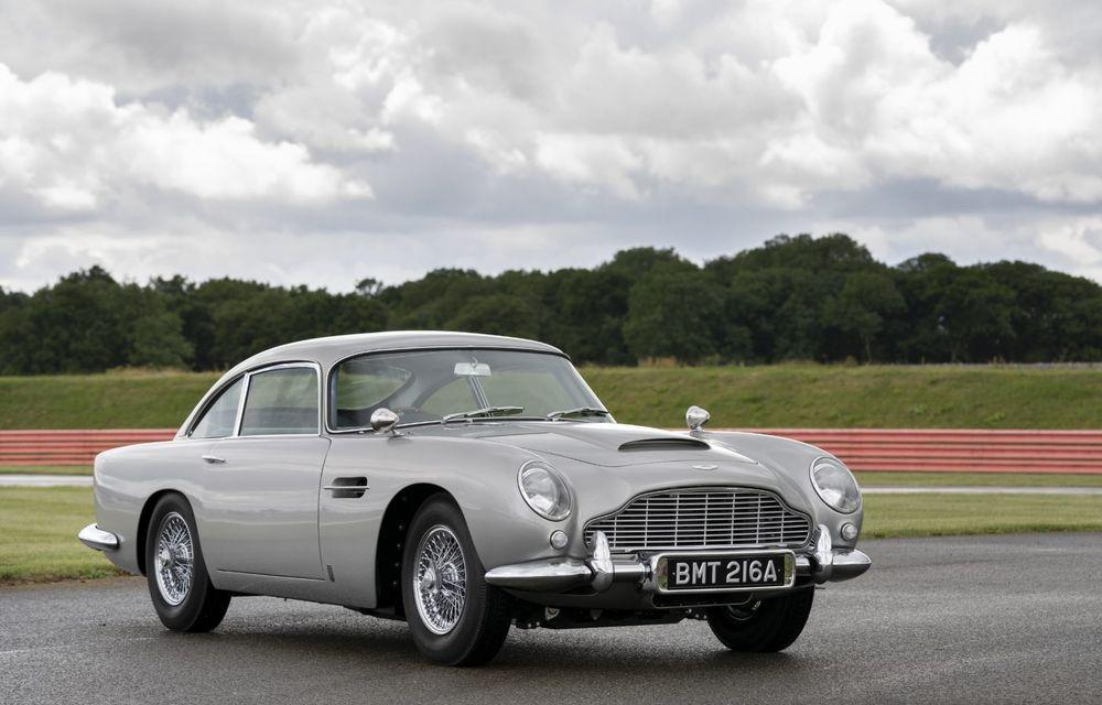 Aston Martin a produs primul exemplar din seria DB5 Goldfinger Continuation: ediția va fi limitată la 25 de unități și are un preț de peste 3 milioane de euro - Poza 3