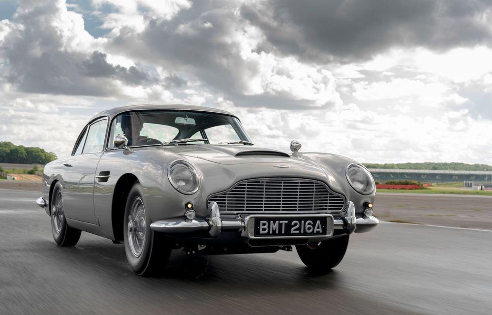 Aston Martin a produs primul exemplar din seria DB5 Goldfinger Continuation: ediția va fi limitată la 25 de unități și are un preț de peste 3 milioane de euro - Poza 2