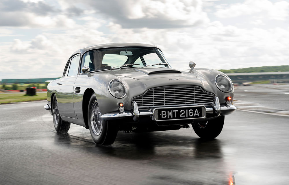 Aston Martin a produs primul exemplar din seria DB5 Goldfinger Continuation: ediția va fi limitată la 25 de unități și are un preț de peste 3 milioane de euro - Poza 1