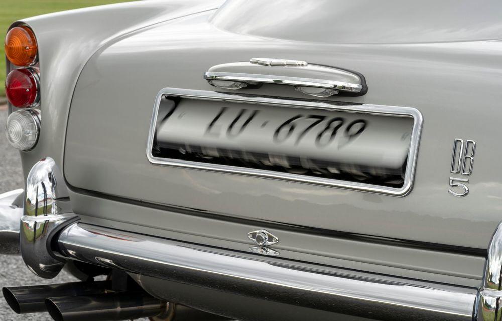 Aston Martin a produs primul exemplar din seria DB5 Goldfinger Continuation: ediția va fi limitată la 25 de unități și are un preț de peste 3 milioane de euro - Poza 18
